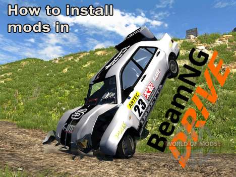 How to install mods in BeamNG drive