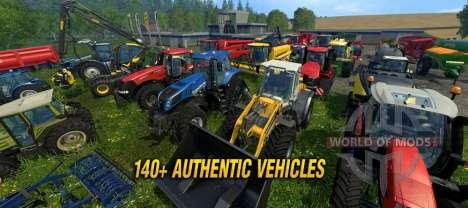 Farming Simulator 2015 new vehicles