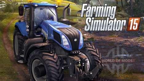 Farming Simulator 2015: agriculture simulator