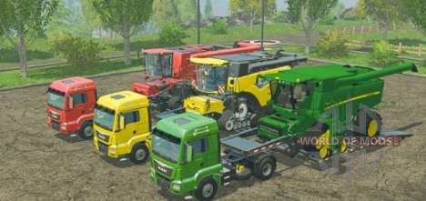 Mods for Farming Simulator 2015