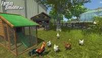 Screenshot chickens from Farming Simulator 2013
