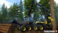 Technique for logging in Farming Simulator 2015