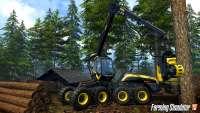 Technique for logging in Farming Simulator 2015