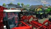 A variety of farm machinery - screenshot FS 2013