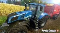 Photo Farming Simulator 2015 - tractor during harvest