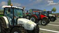 Tractors Farming Simulator 2013 - picture from the game