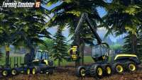 Logging in Farming Simulator 2015