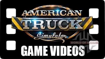 American Truck Simulator - game videos