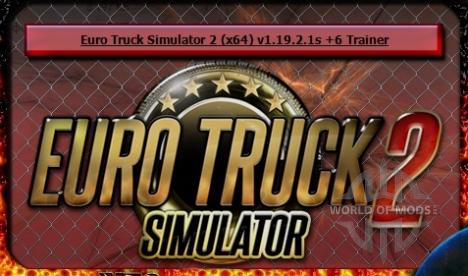 Download Euro Truck Simulator 2 trainer