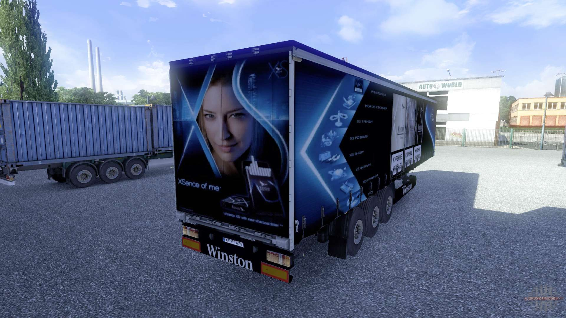 Euro Truck Simulator 2 trailers - download ETS 2 trailer mods