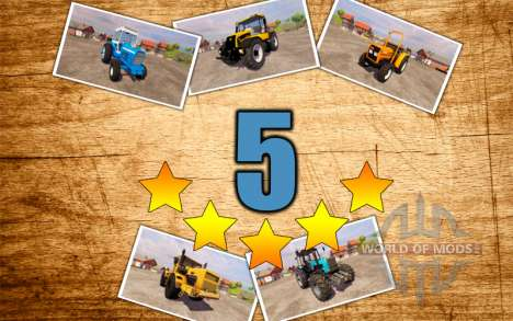 5 best tractors for Farming Simulator 2013