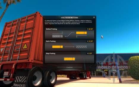 Interface in American Truck Simulator