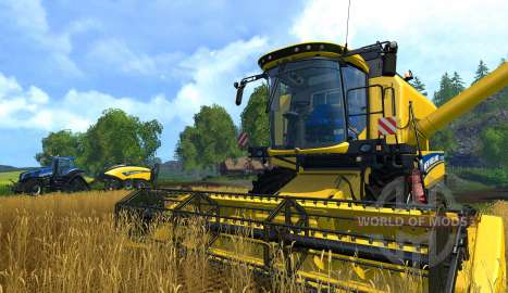 Tractor in Farming Simulator 15