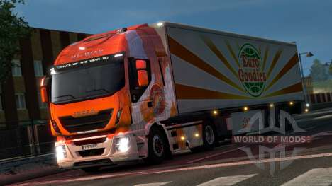 Japanese skin with scales for ETS 2