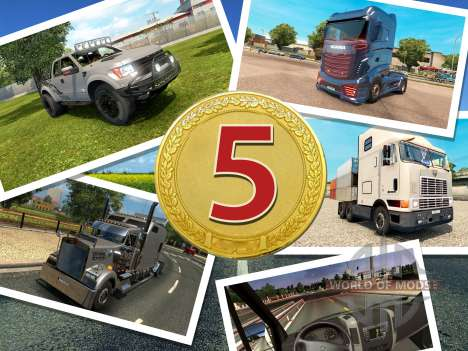 TOP-5 for ETS 2
