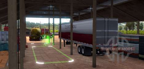 Parking in American Truck Simulator