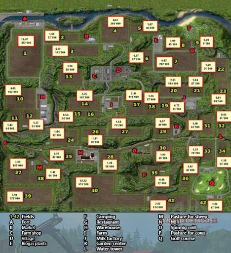 Horseshoes Map Farming Simulator 2013