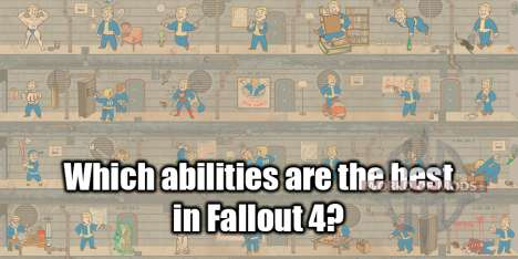 Skills in Fallout 4
