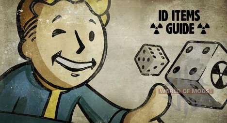 ID items Fallout 4