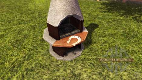 Where are the horseshoes in Farming Simulator 2013