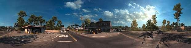 American Truck Simulator - road junction panorama