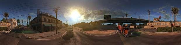 American Truck Simulator - city panorama