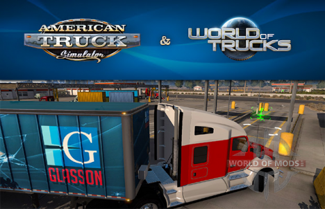 American Truck Simulator and  World of Trucks