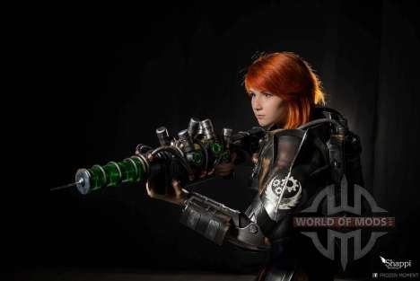 Fallout - Brotherhood of Steel cosplay by Shappi