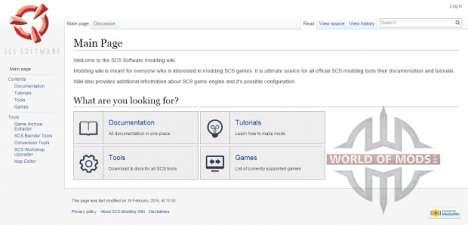 SCS Modding Wiki