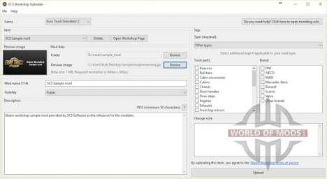 SCS Workshop Uploader