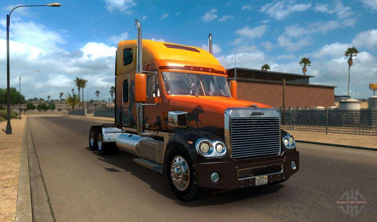 American Truck Simulator trucks and cars - download ATS trucks
