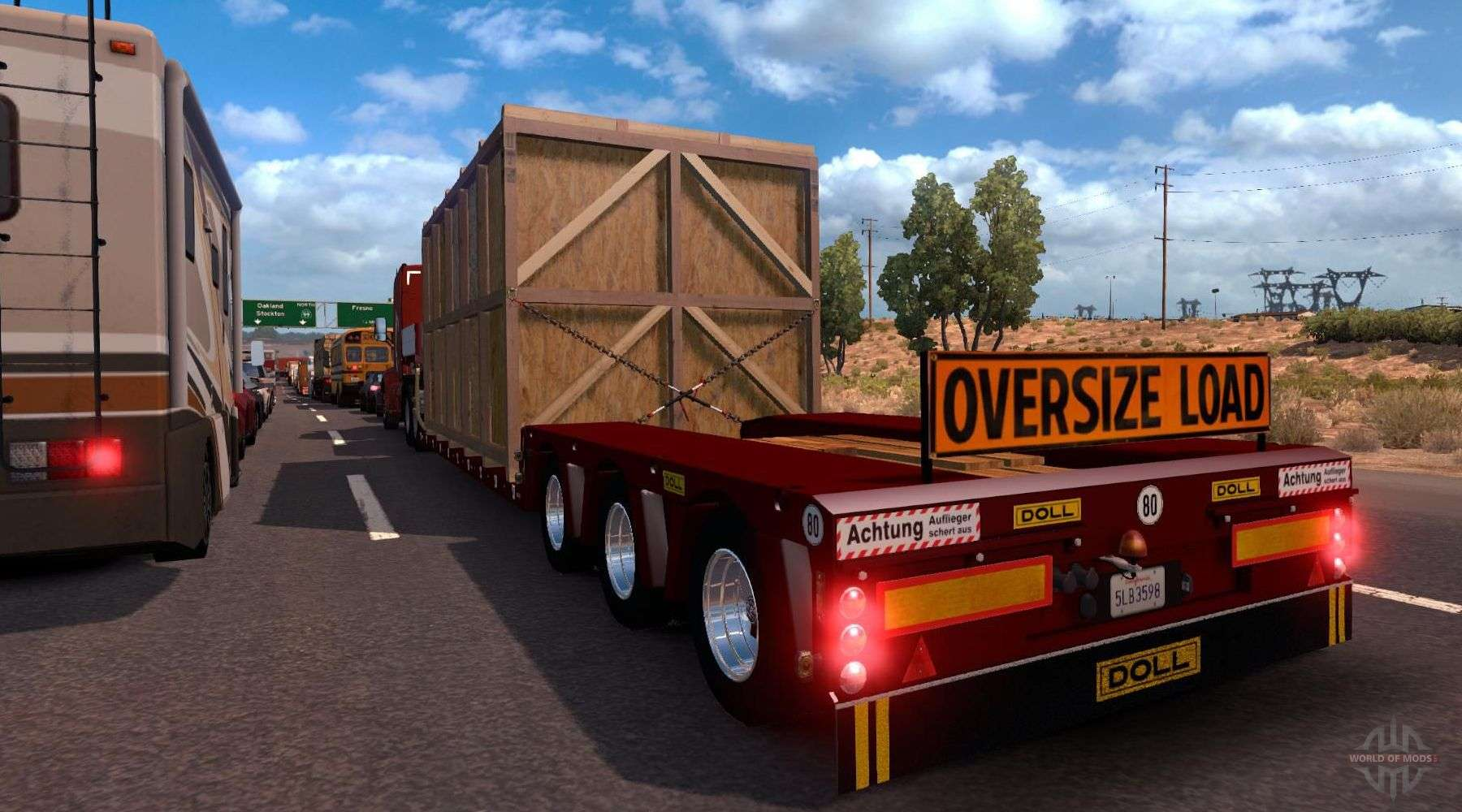 American Truck Simulator Trailers - download trailers mods