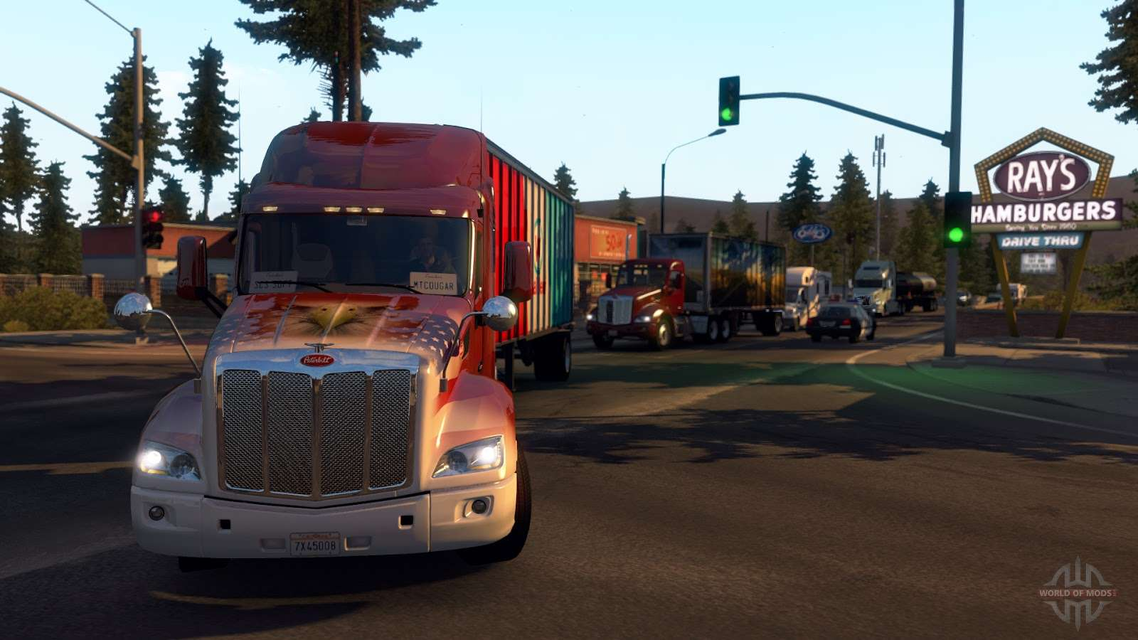 Download the best cheats for Amercian Truck Simulator