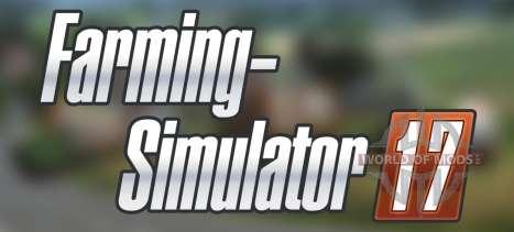 The announcement of Farming Simulator 17
