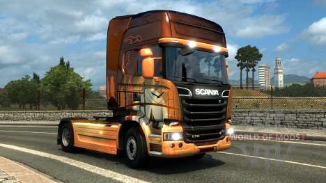 DLC Hungarian and Turkish paintjobs for Euro Truck Simulator 2