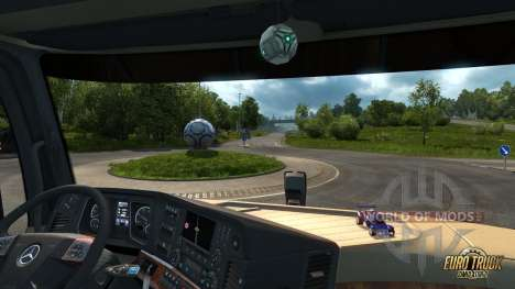 Ball and Octane car for ETS 2