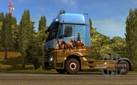 Hungarian paintjob ETS 2