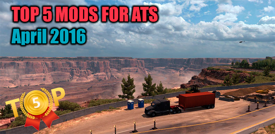 TOP 5 mods for American Truck Simulator