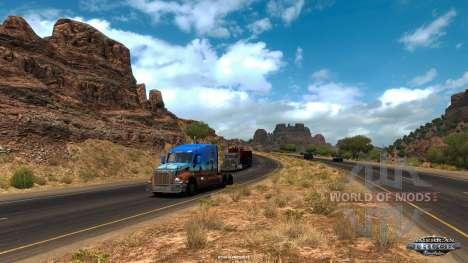 The Arizona view in American Truck Simulator