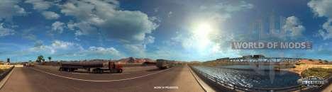 Colorado River near Kingman in American Truck Simulator