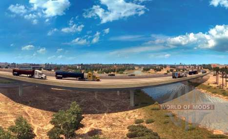 Panoramas of Arizona in American Truck Simulator
