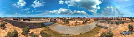 Colorado River near Yuma in American Truck Simulator