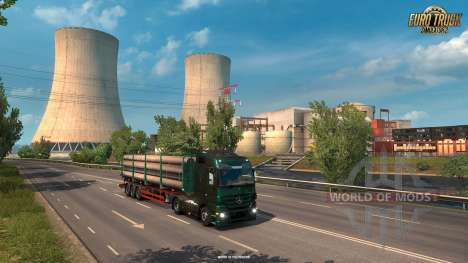 New industrial zones in France ETS 2