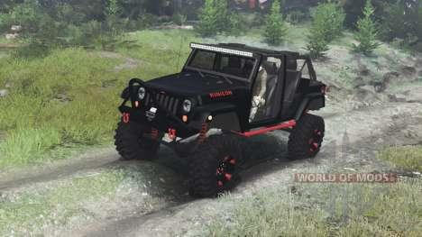 SpinTires Jeep Wrangler Rubicon