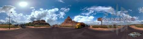 Panorama of Arizona, American Truck Simuulator
