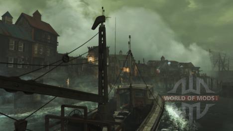 Main settlement in Far Harbor DLC for Fallout 4