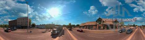 Panorama of Arizona from American Truck Simulator