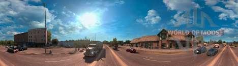 Panorama of Arizona from American Truck Simulator