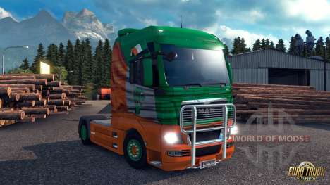 Irish window flag for Euro Truck Simulator 2