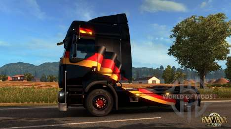 German window flag for Euro Truck Simulator 2